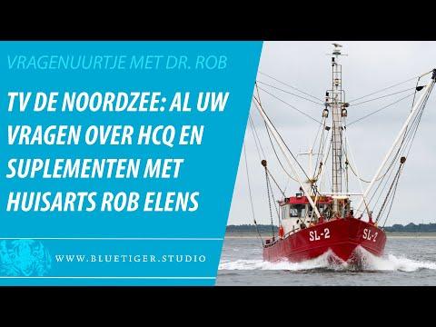 Het vijfde vragenuurtje met dr. Rob Elens op ... de Noordzee, in alle vrijheid en zonder ME cowboys.