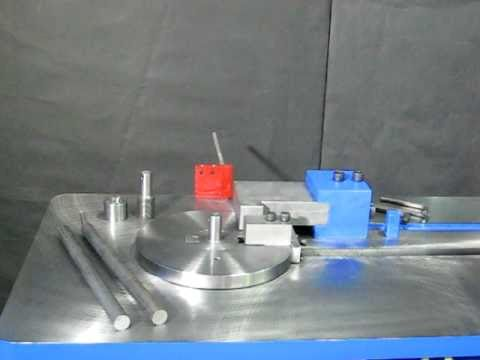 Bar Stock Bender Pedrick Model DD-5 Setup & Operation – Part 2