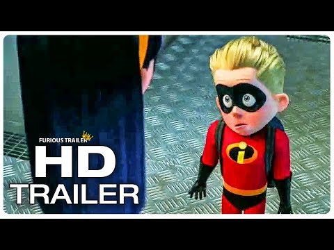 INCREDIBLES 2 Where is Jack Jack? Trailer (NEW 2018) Superhero Movie HD