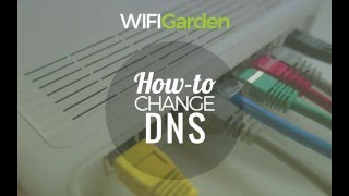 Hướng dẫn WIFI Garden - How to change the DNS