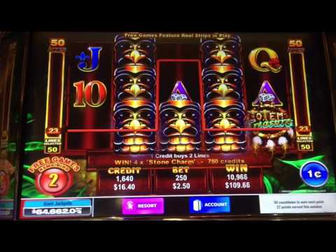 Totem Treasure Slot Machine Bonuses -- Big Wins!!