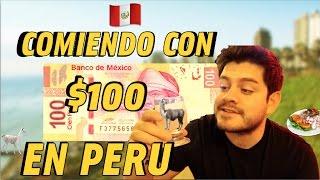El día de hoy haremos dos COSAS a la vez, el TAG del TIANGUIS y comiendo con 100 pesos UN DIA ENTERO en este hermoso país, PERU !!! ¿Crees que ...