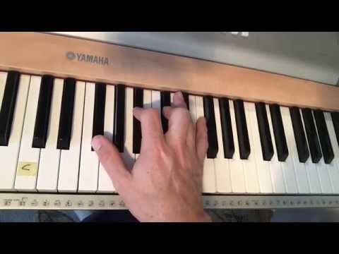 Learn The F, Fm, F#, F#m Chords On Piano - (Matt McCoy)
