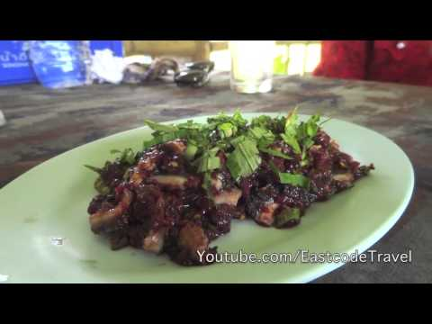 raw spicy minced beef ลาบวัวดิบ  North Thai cuisine