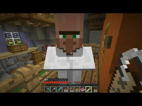 plays - In this Minecraft episode we do some trading in the underground market, set up some hidden storage in the Library, and start building a suspended rail line. ...