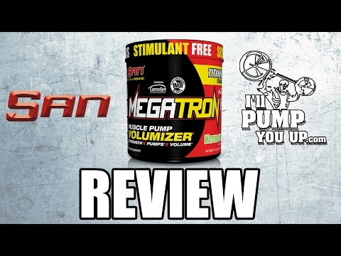SAN Megatron N.O. Booster Supplement Review with Taste Test