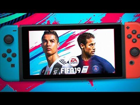 ОБЗОР FIFA 19 НА NINTENDO SWITCH (видео)