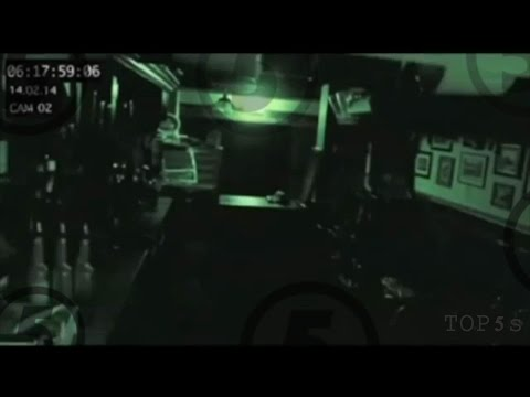 5 Terrifying Ghosts Caught On CCTV