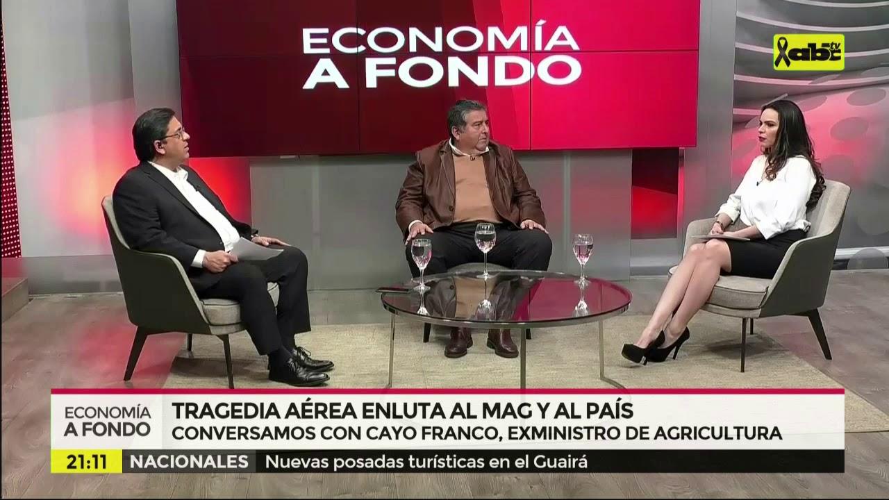 Economía a Fondo: Tragedia aérea enluta al país