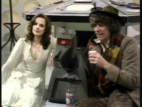 Rare Doctor Who Scene Starring Mary Tamm &amp; Tom Baker &amp; K9