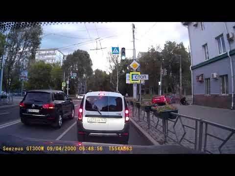 ДТП в Самаре на улице Владимирской