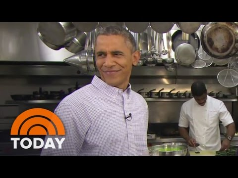 Obama Brews Beer In The White House | TODAY