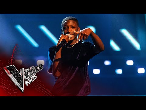 Amos Performs 'Ladbroke Grove' | Blind Auditions | The Voice Kids UK 2020
