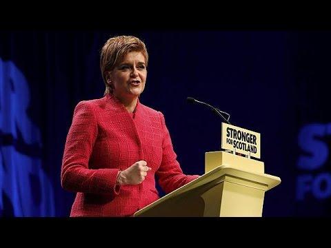 Νίκολα Στέρτζεον: «Η Σκωτία να επιλέξει το μέλλον της»