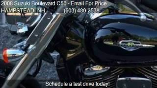 10. 2008 Suzuki Boulevard C50 Black for sale in HAMPSTEAD, NH 03