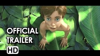 Tarzan Official Trailer #2 (2013) - Kellan Lutz