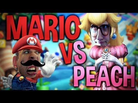 MARIO VS PEACH - NOUS SOMMES DÉFORMÉS ! ;_;