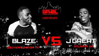 DFW Battle League | Blaze vs. J Great