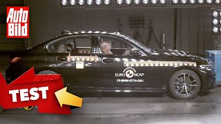 BMW 3er (2019): Crashtest - Euro NCAP - Sicherheit - Infos by Auto Bild