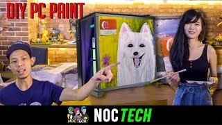 Video NOC Tech: DIY Painted PC Case! (NDP) MP3, 3GP, MP4, WEBM, AVI, FLV Agustus 2018