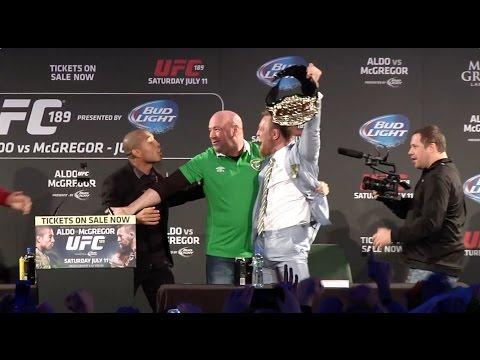 UFC 189 World Championship Tour: Recap with Dana, Aldo, and McGregor