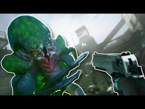 Garrys Mod - ALIENS INVADE! - Earthfall Gameplay - Left 4 Dead 2 style Survival Game!