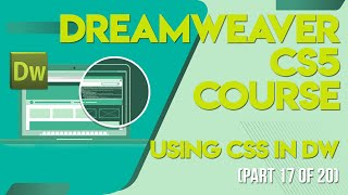 Dreamweaver CS5 Tutorials In Urdu/Hindi Part 17 Using Css In Dw