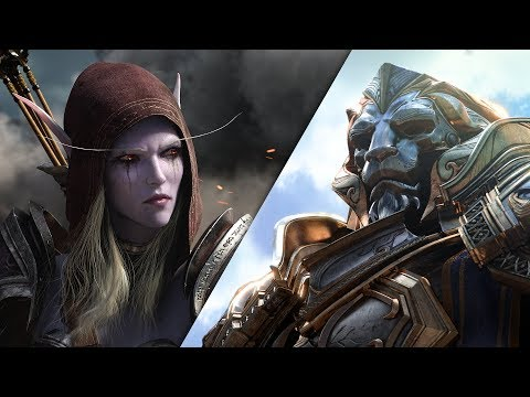 Tráiler cinemático de World of Warcraft: Battle for Azeroth