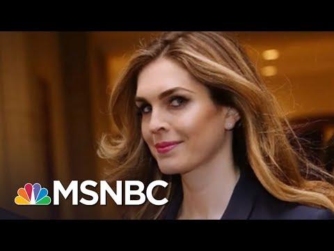 'Javanka' Faction Falling Apart As Hope Hicks, Others Quit W.H. | Rachel Maddow | MSNBC