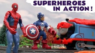 Superheroes in Action