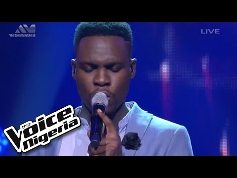 "Nonso Bassey Sings ""impossible"" / Live Show / The Voice Nigeria 2016"