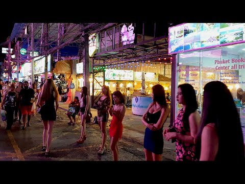 Thailand: Phuket Bangla Road: WALKING TOUR, Patong, P ...