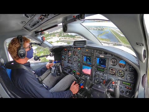 Flying in the days of COVID - TBM850 IFR Flight VLOG