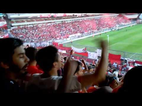 Independiente 0 Banfield 1 / Vengo a alentar de corazón + recibimiento - La Barra del Rojo - Independiente