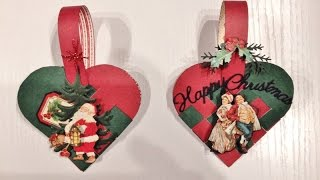 Here is a tutorial on how to make these fun Christmas braided / woven paper heart baskets using A Christmas Carol and Twas the Night Before Christmas collection from Graphic 45. This  heart baskets can be used as a ornament decor on your Christmas tree or as a gift basket for Valentine. I learned how to make this when I was a little girl so these are also fun to make together with Children :-)Supply list:A Christmas Carol, Twas the Night Before Christmas collection from Graphic 45, dies, pop dots,glue and some beautiful Christmas music :-)Here is the link to my blog for pictures and template,http://www.annespapercreations.com/2015/12/diy-braided-christmas-heart-basket.htmlHere is the link to my fussy cut video tutorial,https://www.youtube.com/watch?v=2Z61GwMnv8MRegarding questions there is a video where frequently asked questions from You Tube, Blog,Mail and messages are are answered. Here is the link,http://www.youtube.com/watch?v=qgsJnzDCHkA For other questions please visit my blog where I will post new questions that has not been answered before.Here is the link,http://www.annespapercreations.com/p/frequently-asked-questions.htmlHave fun creating :-)Hugs, Anne