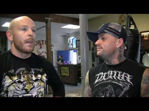 Aaron Tru with Jason Ellis and Benji Madden Ellis Trashes Lesnar