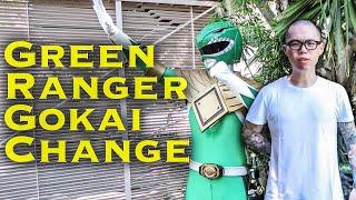 Green Ranger Gokai Change [FAN FILM]