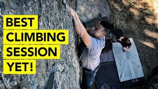 Bouldering Outdoors for 12 HOURS! by  rockentry