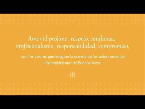 Video  homenaje Día de la Enfermería / Hospital Italiano de Buenos Aires