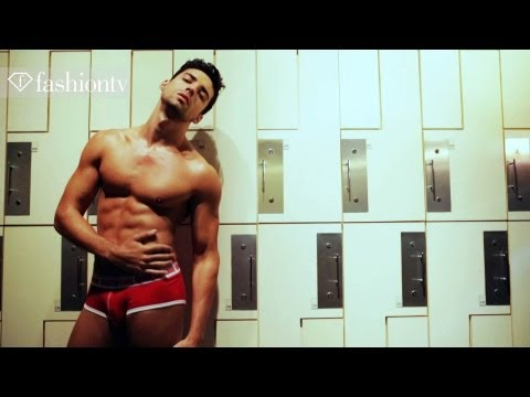 QuarterHomme Bodywear: Hipster Men's Underwear Photo Shoot | FashionTV