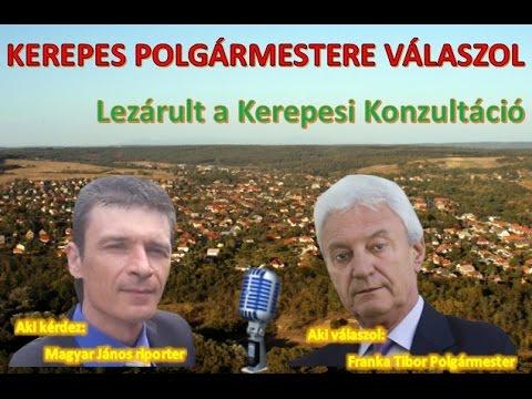 Kerepes Polgármestere válaszol 25. - 2016.11.18. - Kerepesi konzultáció