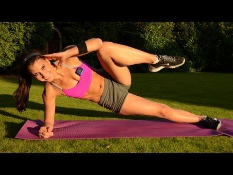 Antrenament fitness pentru sculptarea si tonifierea abdomenului