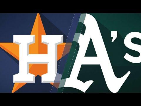 A's stage comeback, walk-off vs. Astros: 8/17/18 (видео)