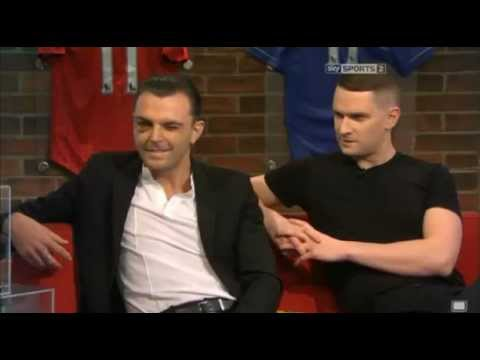 hurts - Adam and Theo on Soccer AM 09th March 2013.