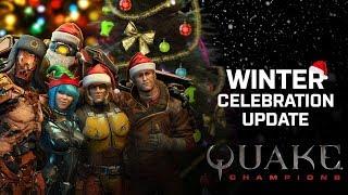 Видео к игре Quake Champions из публикации: Зимнее обновление в Quake Champions: герой, карта, рейтинговая игра и настройка прицела