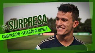 Veja a reação do zagueiro do Verdão ao saber que foi convocado pela primeira vez para atuar pela Seleção Olímpica do Brasil. ------------------------ Assine ...