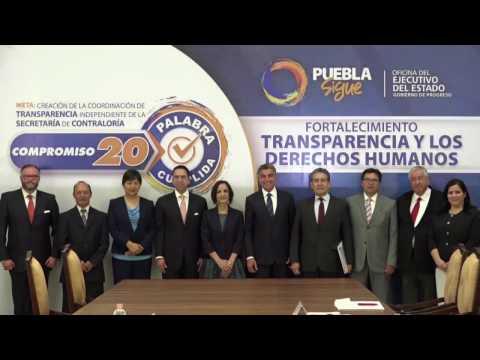 Tony Gali cumple su compromiso 20: Creación de Coordinación de Transparencia