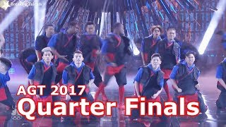 Brobots & Madroidz w Judges Comments Quarter Finals America's Got Talent 2017 Live Round 2 America's Got Talent Official ...