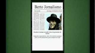 Berto: Jornalismo Vídeo YouTube