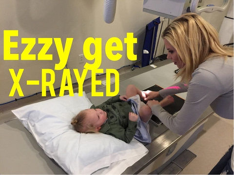 EZZY GETS AN X RAY